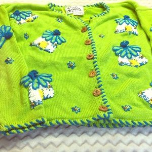 Lilly Pulitzer button down sweater Sz S